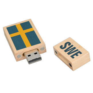 Swedish flag USB pendrive flash drive for Sweden