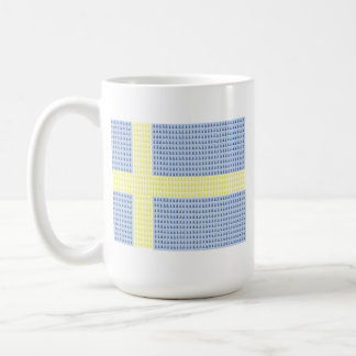 Swedish Flag w å + filler - Mug