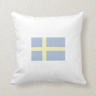 Swedish Flag w å + filler - Pillow