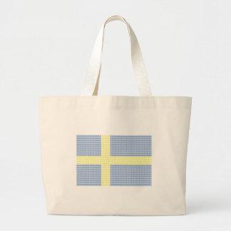 Swedish Flag w å + filler - Tote Bag