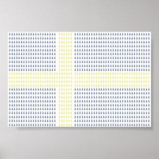 Swedish Flag w å - Poster