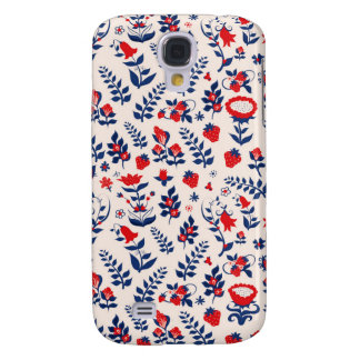 Swedish Floral Print Galaxy S4 Cover