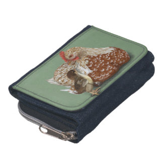 Swedish Flower Hen and Chick Wallet