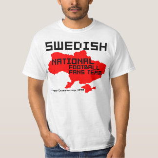 Swedish football in Ukraine, Poland T-Shirt