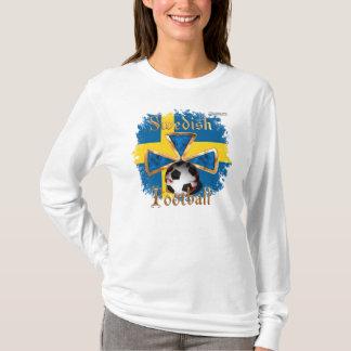 Swedish Football Spice Ladies Long Sleeve Shirt