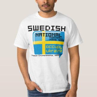 Swedish football, Ukraine - Poland T-Shirt