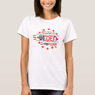 Swedish football, Ukraine, Poland T-Shirt
