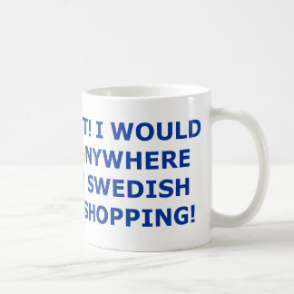Swedish Furniture Shopping Mugs