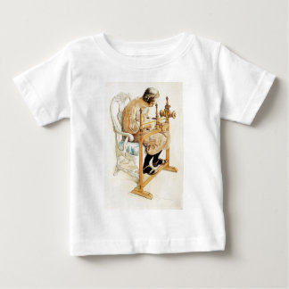 Swedish Girl Weaving Baby T-Shirt