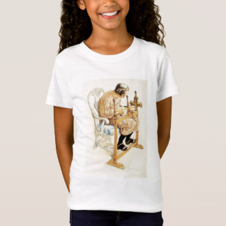 Swedish Girl Weaving T-Shirt