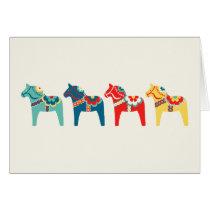 Swedish Horses Card