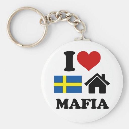 Swedish House Music Key Chain