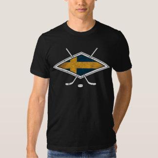 Swedish Ice Hockey Logo T Shirt
