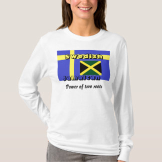 Swedish jamaican t-shirts