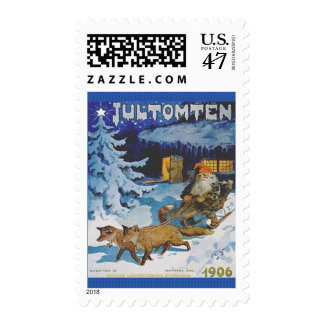 Swedish Jultomten Vintage Christmas Troll Postage