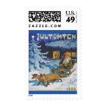 Swedish Jultomten Vintage Christmas Troll Postage Stamps
