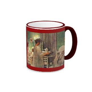 Swedish  Lucia  by  Carl Larsson Coffee Mug
