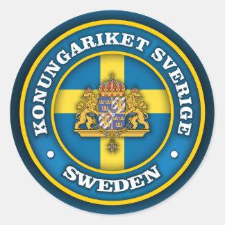 Swedish Medallion Stickers