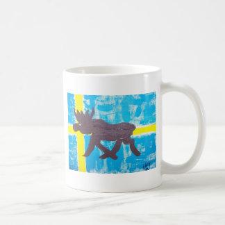 Swedish Moose Coffee Mug
