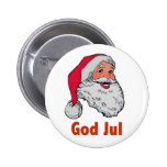 Swedish/Norwegian Santa Button