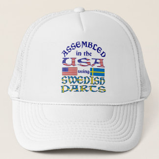 Swedish Parts Trucker Hat