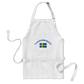 swedish patriotic flag designs adult apron