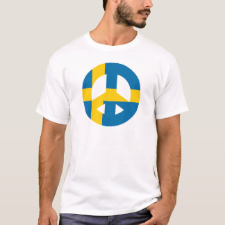 Swedish Peace Sign T-Shirt