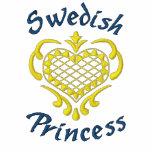 Swedish Princess Embroidered Hoodie