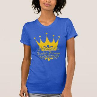 Swedish Princess in Swedish Flag Colors T-Shirt