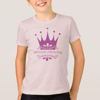 Swedish Princess Pretty in Pink Little Girl T-Shirt