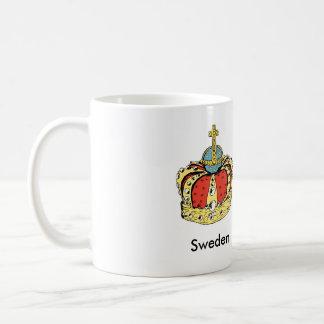 Swedish Queen Lovisa Ulrika Crown Mug
