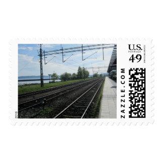 Swedish Rail System Stamps