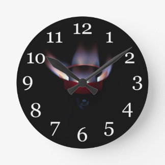 Swedish Roarer Pressure Stove Round Clock