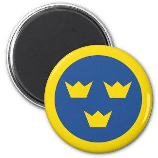 Swedish Roundel Magnet