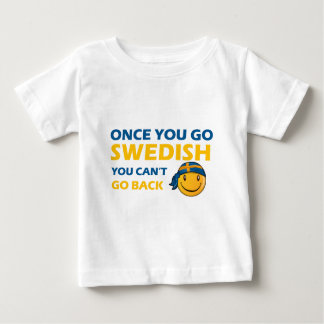 Swedish smiley designs baby T-Shirt