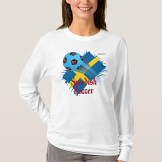 Swedish Soccer Bonanza Ladies Long Sleeve Shirt