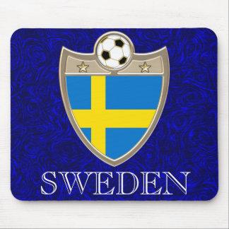 Swedish Soccer Mouse Pad