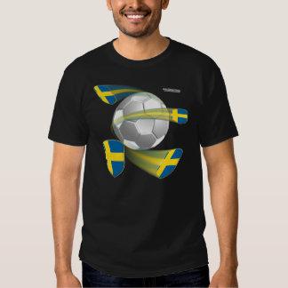 Swedish Soccer Shields Men's Colored Shirt