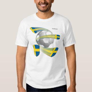 Swedish Soccer Shields Men's Shirt