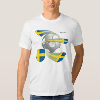 Swedish Soccer Shields Men's T-Shirt