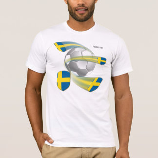 Swedish Soccer Shields Men's T-Shirt