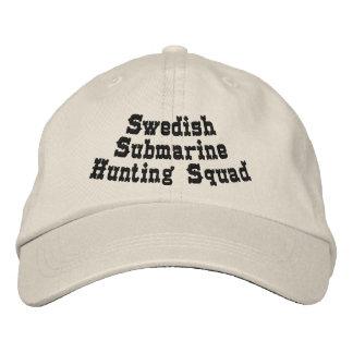 Swedish submarine hunting squad baseball cap