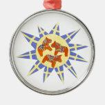 Swedish Sunburst Ornament