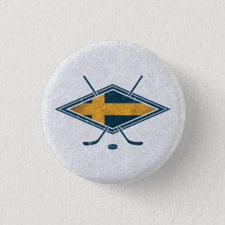 Swedish Sverige Ice Hockey Badge Hockey Pin