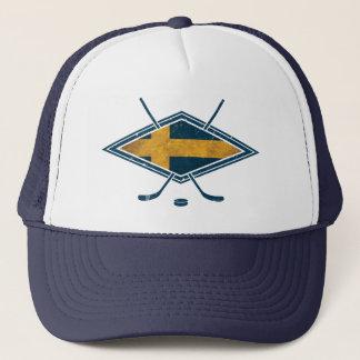 Swedish Sverige Ice Hockey Mesh Hat