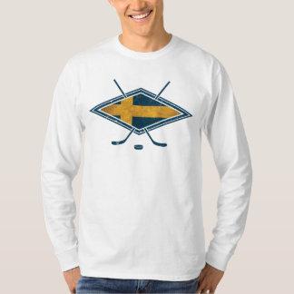 Swedish Sverige Ice Hockey T-Shirt