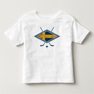 Swedish Sverige Ice Hockey Toddler T-shirt