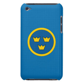 Swedish Three Crowns Flygvapnet Barely There iPod Cover