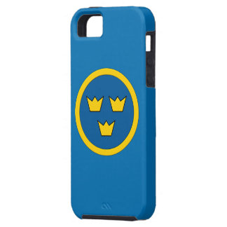 Swedish Three Crowns Flygvapnet iPhone 5 Cover