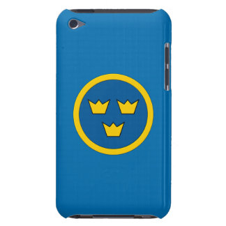 Swedish Three Crowns Flygvapnet iPod Touch Case